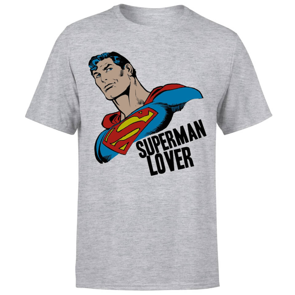 Superman Lover T Shirt Black XXL Schwarz