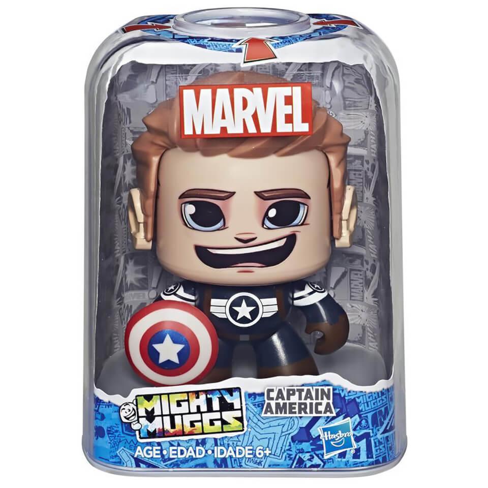 Figura Mighty Muggs Capitán América - Marvel