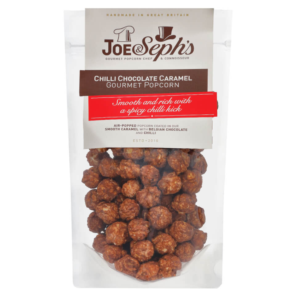 Joe & Seph's Chilli Chocolate Popcorn - 120g