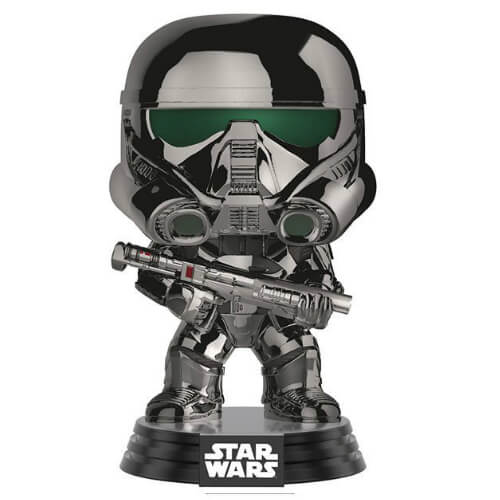 Star Wars Chrome Imperial Death Trooper EXC Pop! Vinyl Figure