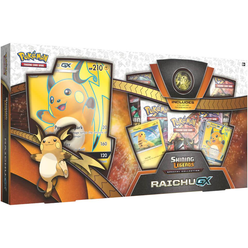 Shining Legends Special Collection Raichu GX Pokemon TCG