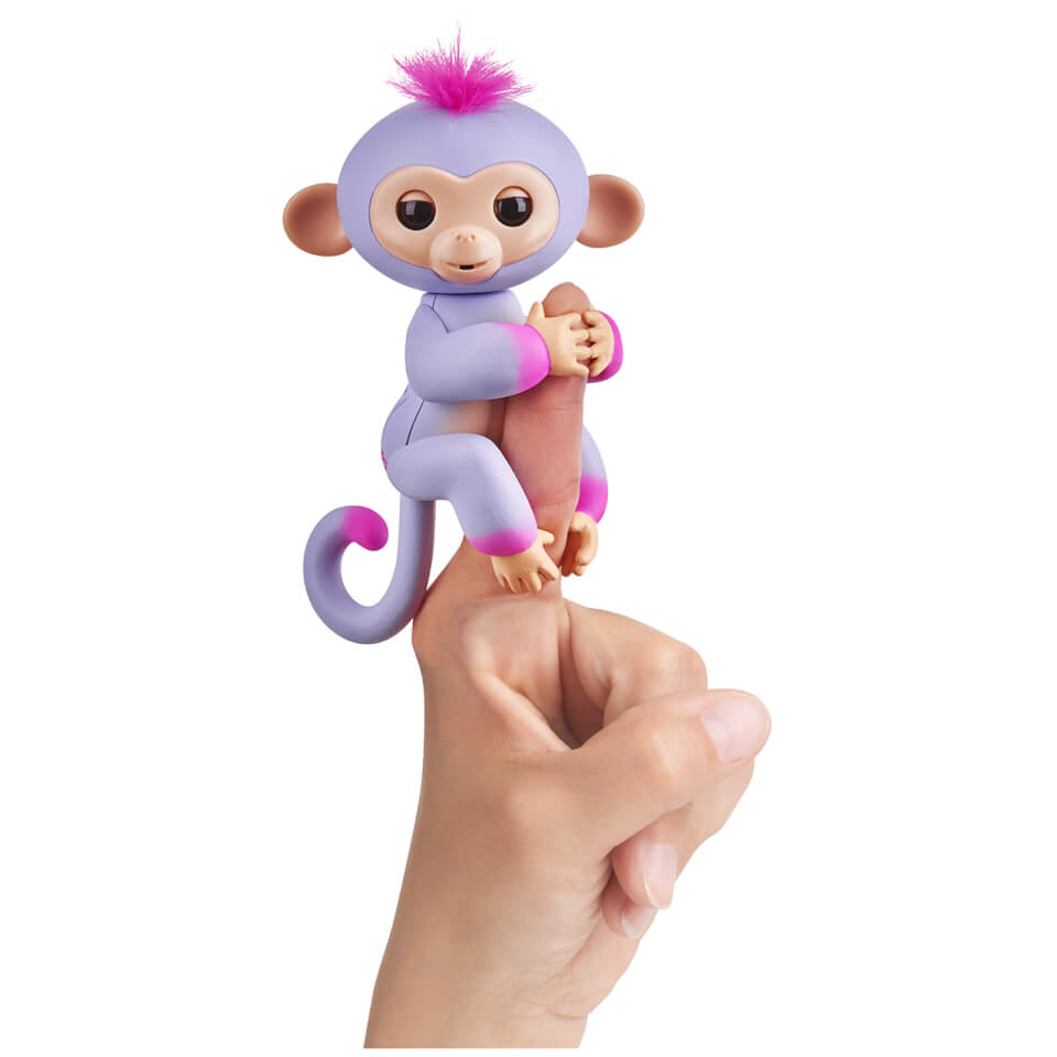 Fingerlings Baby Monkey - Two Tone - Sydney (Purple and Pink)