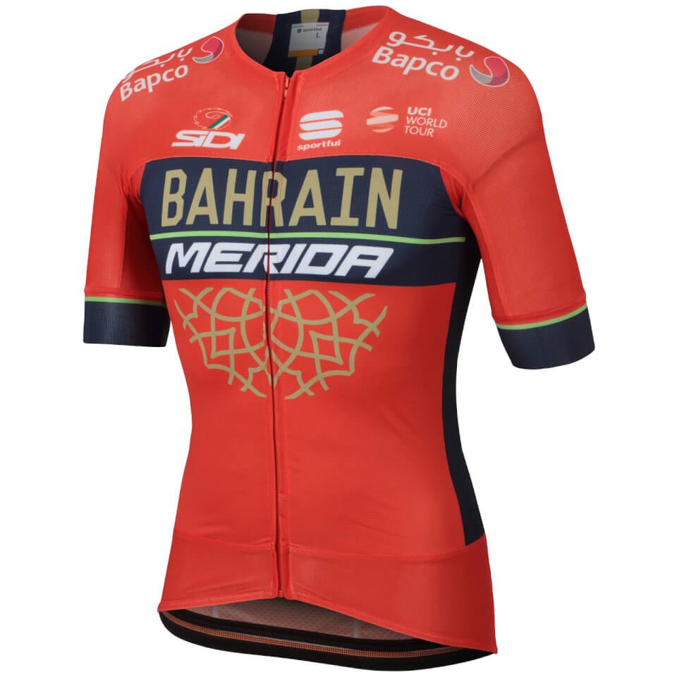 Sportful Men's Bahrain Merida BodyFit Evo Race Jersey | Jerseys