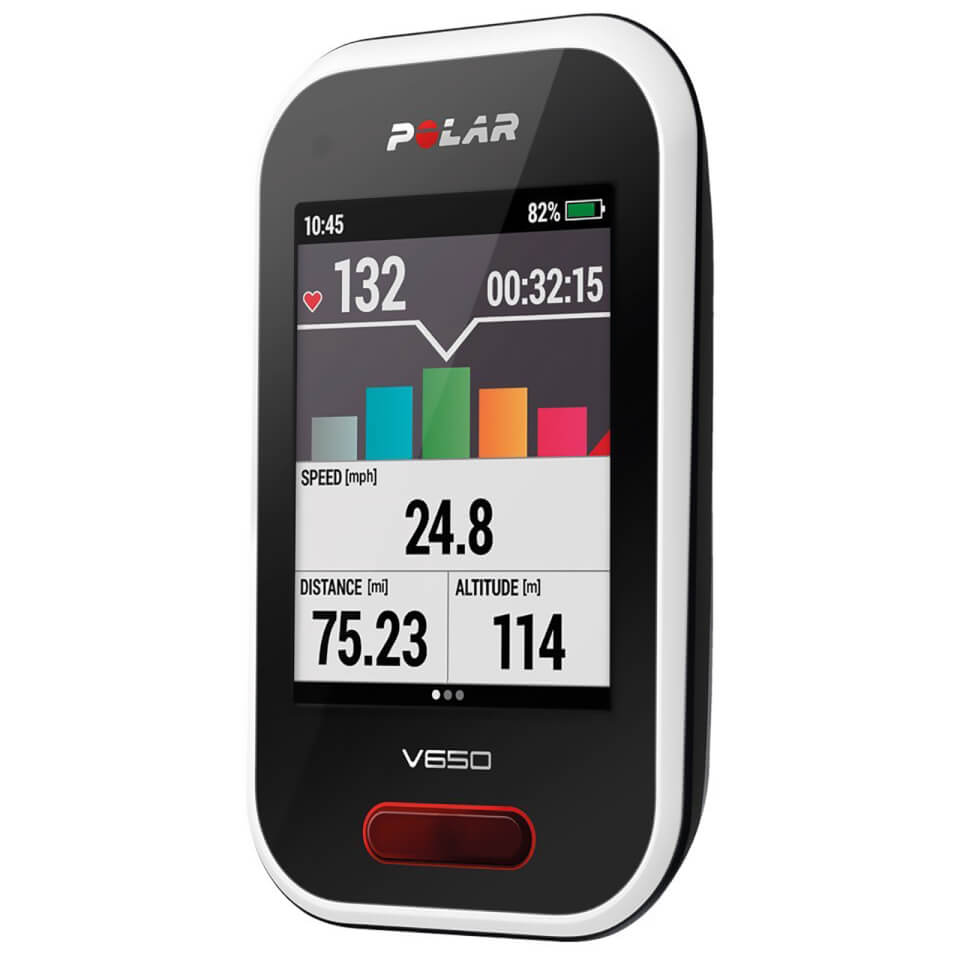 Polar V650 GPS Cycle Computer
