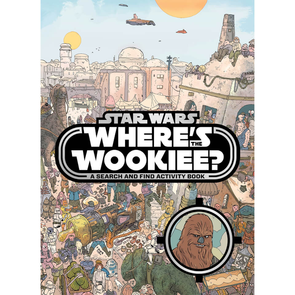 Star Wars Where's the Wookiee (Paperback)