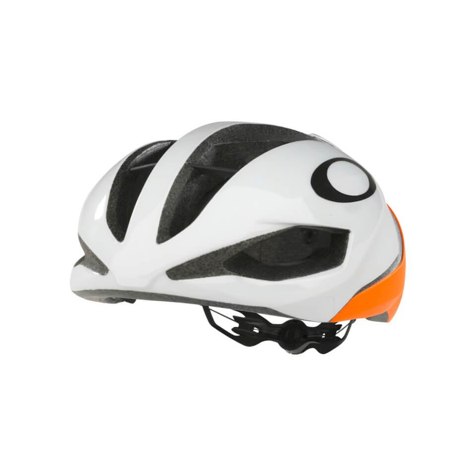 Oakley ARO5 Helm - Neon Oranje - M - Wit / Oranje