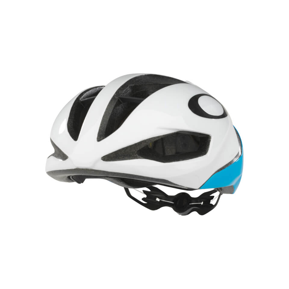 Oakley ARO5 Helm - Atomic Blue - S - Wit / Blauw