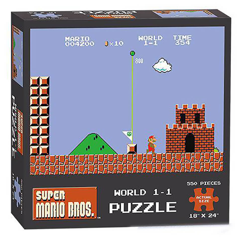 Super Mario Bros. World 1 1 Puzzle