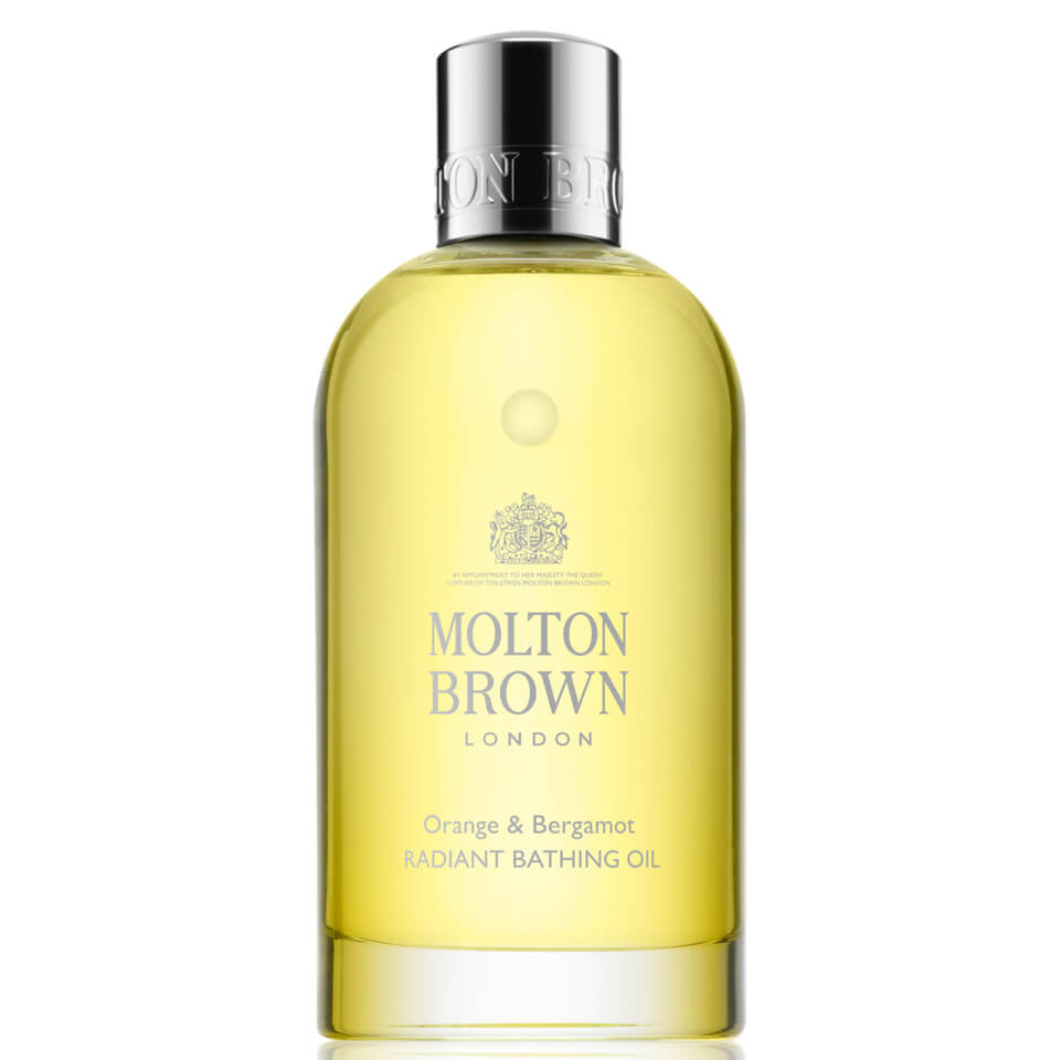 Molton Brown Body Essentials Orange & Bergamot Radiant Bathing Oil Badeöl