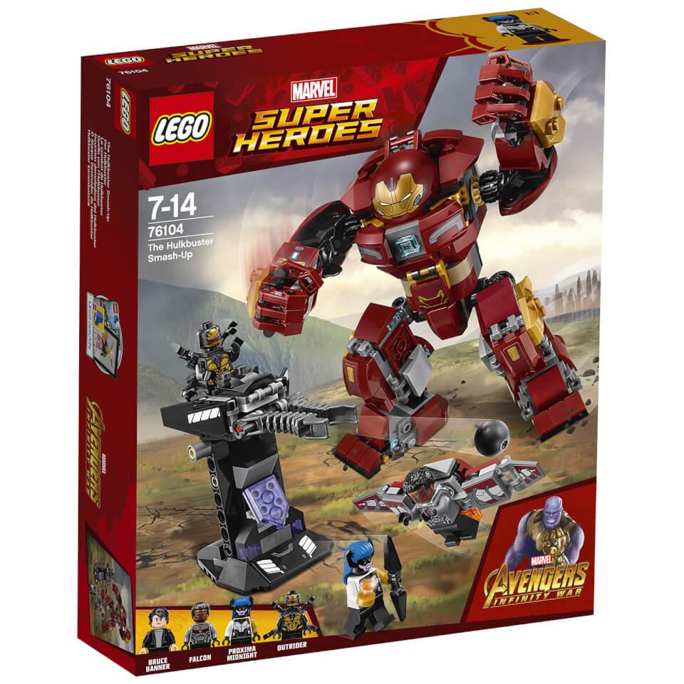 LEGO Super Heroes Marvel Infinity War The Hulkbuster Smash Up (76104)
