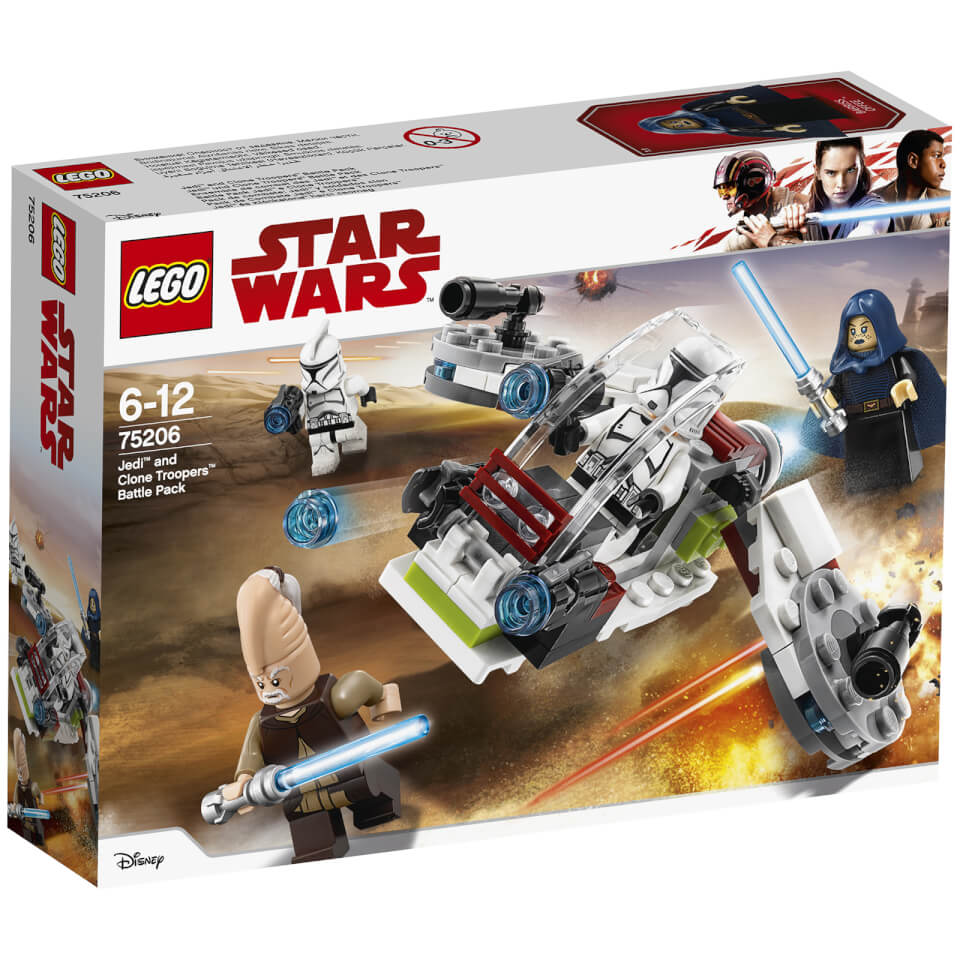LEGO Star Wars Classic Jedi and Clone Troopers Battle Pack (75206)