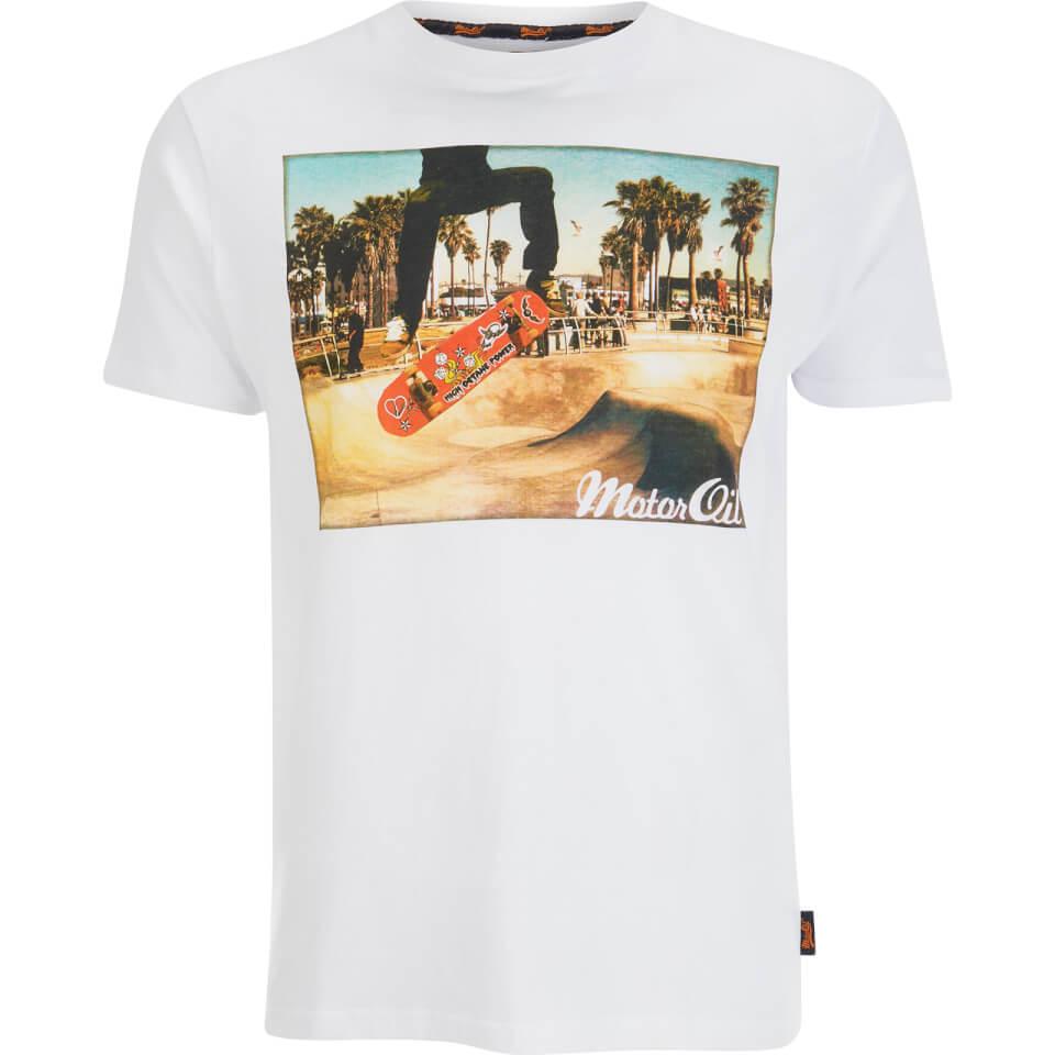 Camisa Brave Soul Halfpipe - Hombre - Blanco - L - Blanco