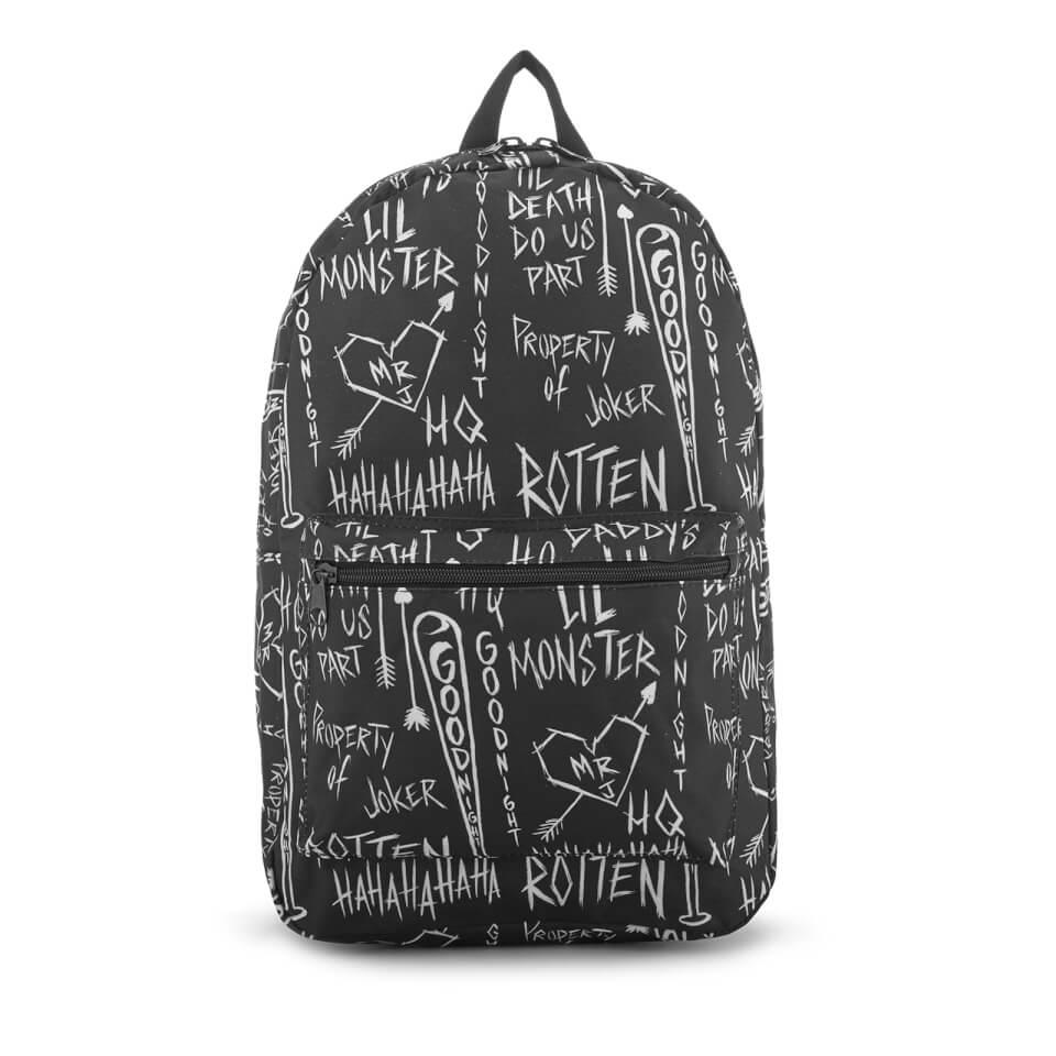 DC Comics Suicide Squad Sketch Backpack Black