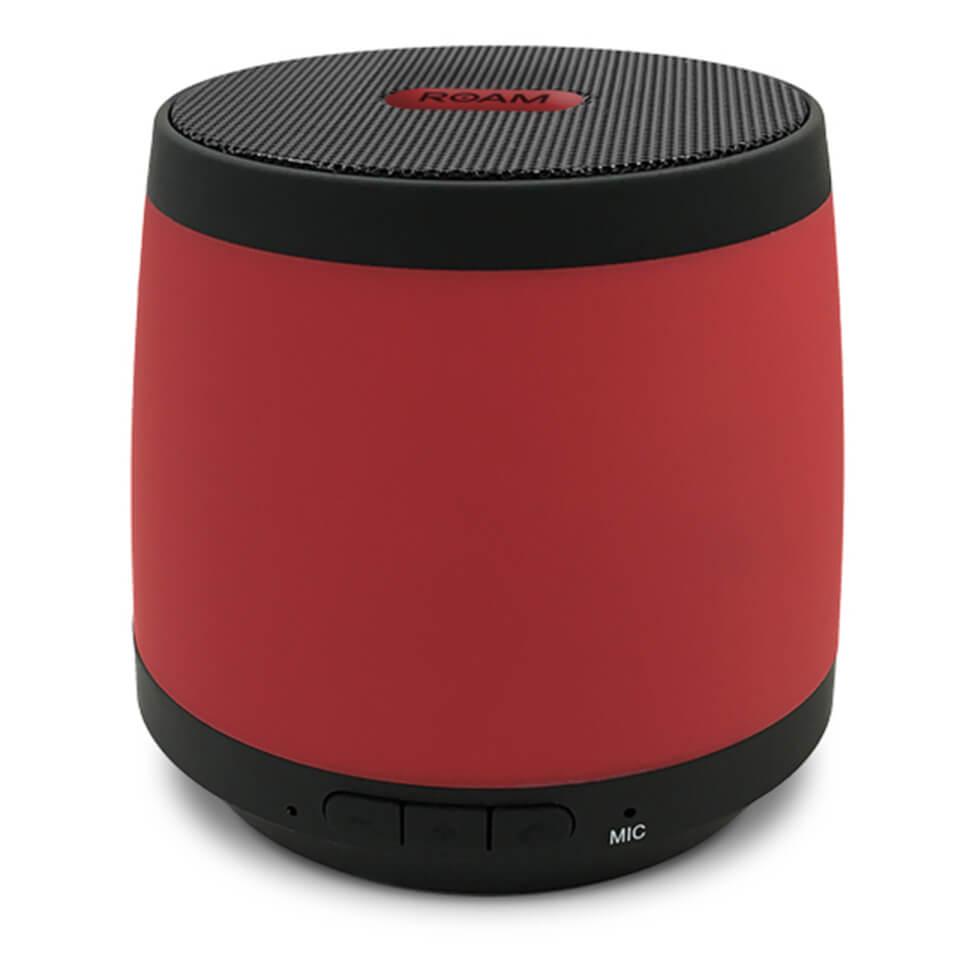 ROAM Colours Wireless Bluetooth Speaker - Red