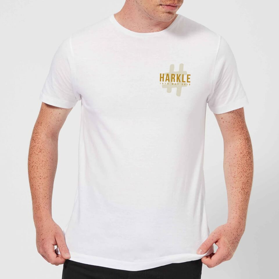 1368b01fa4538 #Harkle T-Shirt - White - L - White