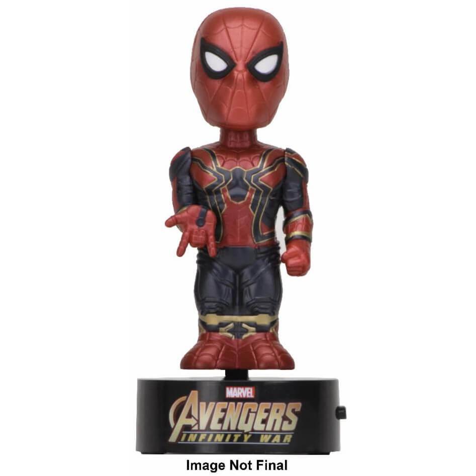 Nützlichfanartikel - NECA The Avengers Infinity War Wackelfigur Spider Man - Onlineshop Sowas Will Ich Auch
