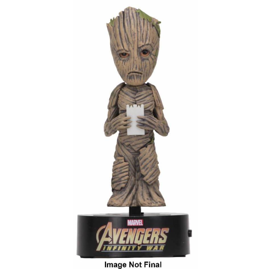 Nützlichfanartikel - NECA The Avengers Infinity War Body Knocker Groot - Onlineshop Sowas Will Ich Auch