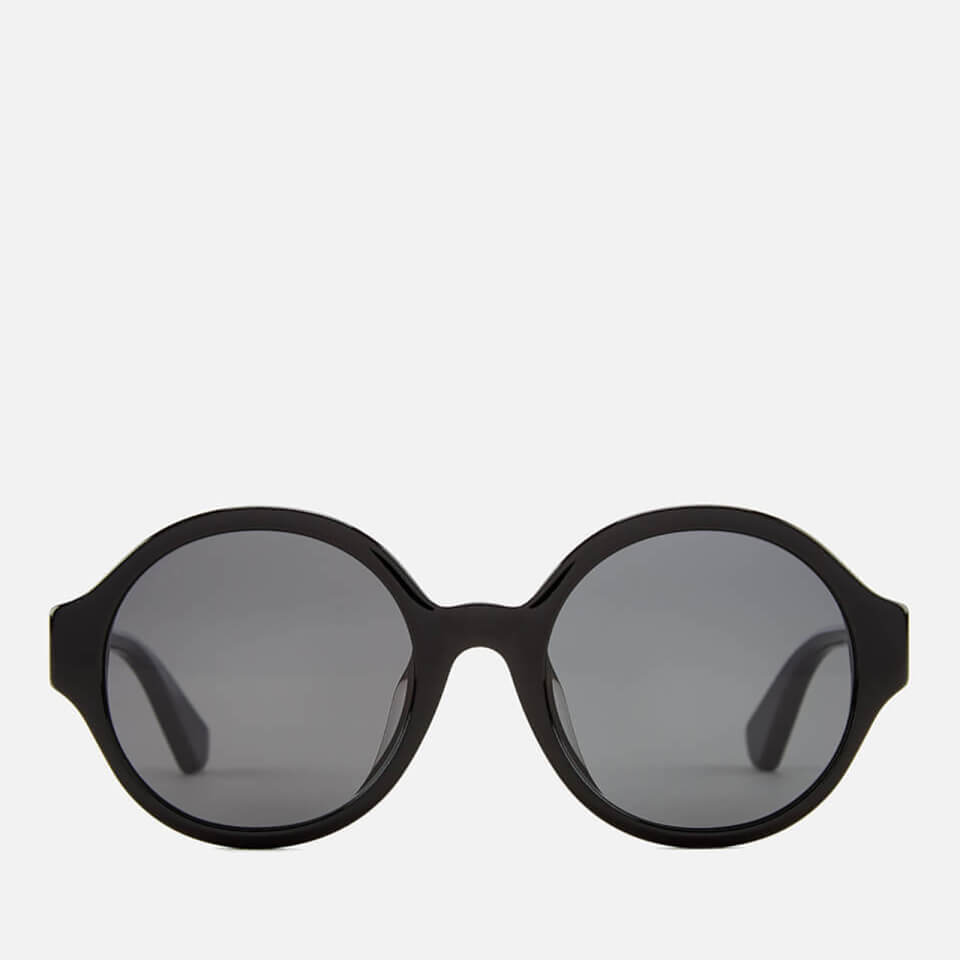 960b5944c0b céline bevel black round frame sunglasses available via PricePi.com ...
