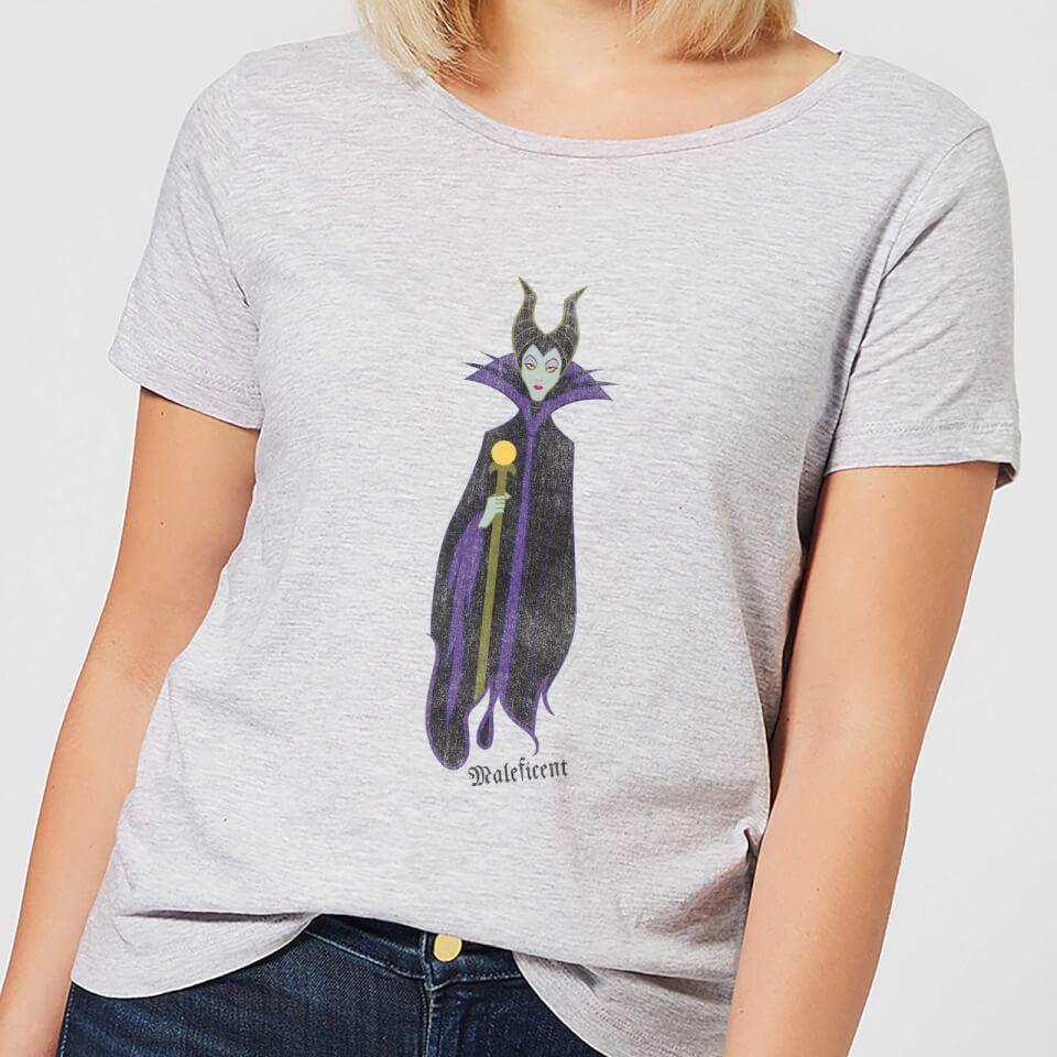 Camiseta Disney La Bella Durmiente Maléfica - Mujer - Gris - L - Gris