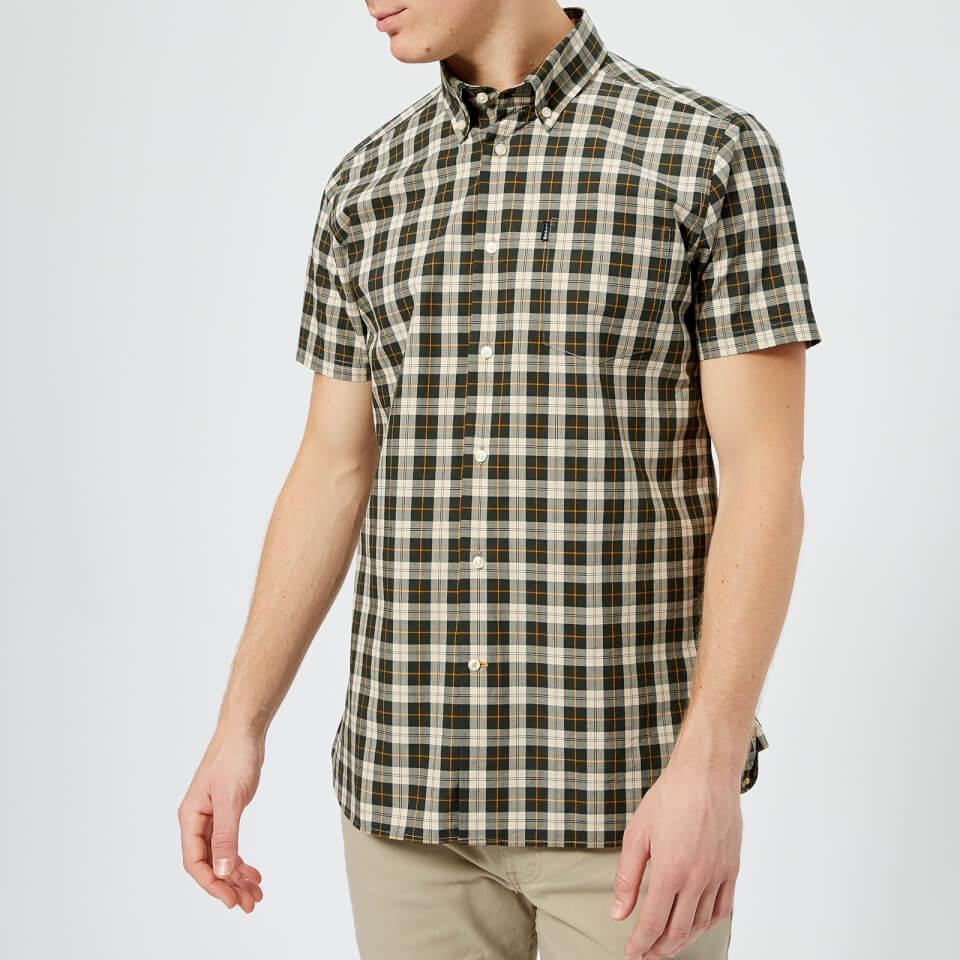 Barbour Men's Cadman Short Sleeve Shirt - Ancient Tartan - S - Multi