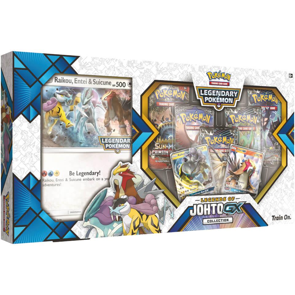 Pokemon TCG Legends of Johto GX Collection