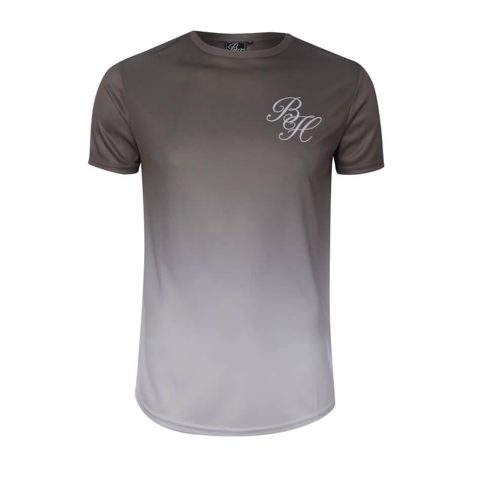 Beck & Hersey Men's Faded Print T-Shirt - White - L - Blanco