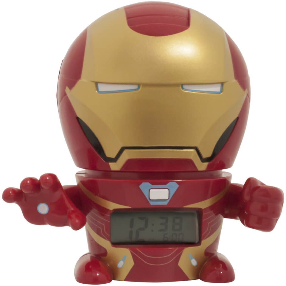 BulbBotz Marvel Avengers Infinity War Iron Man Nachtlicht Wecker
