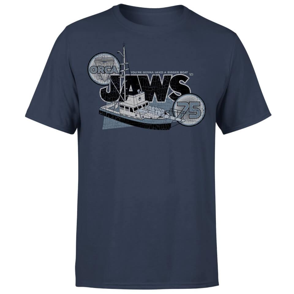 Camiseta Tiburón Orca 75 - Hombre - Azul marino - L - azul marino