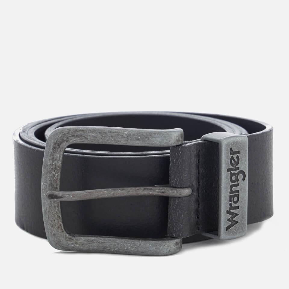 Wrangler Men's Metal Loop Belt - Black - L - Negro
