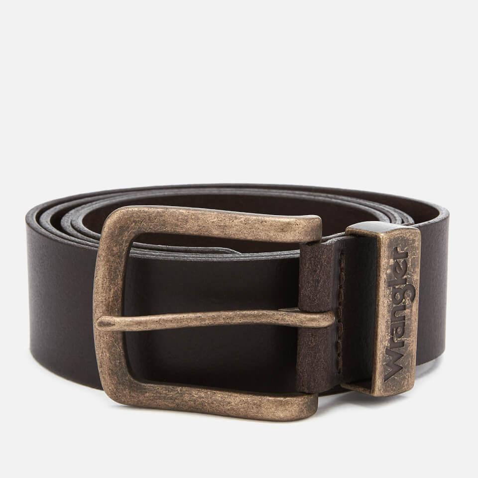 Wrangler Men's Metal Loop Belt - Brown - L - Brown