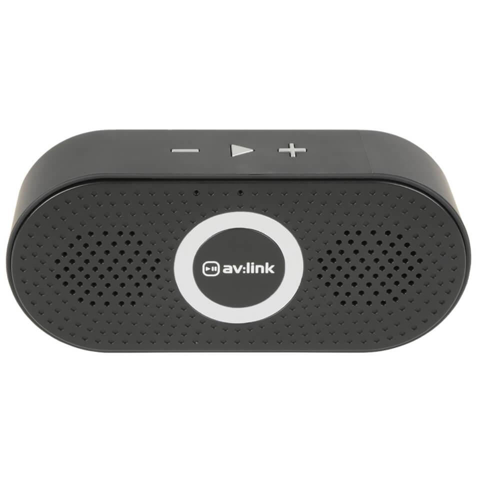 AV Link Portable 4.2 Bluetooth Speaker Black