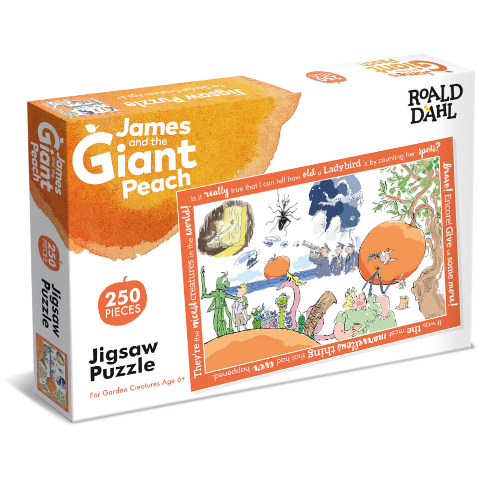 James And Gaint Peach Jigsaw Puzzle