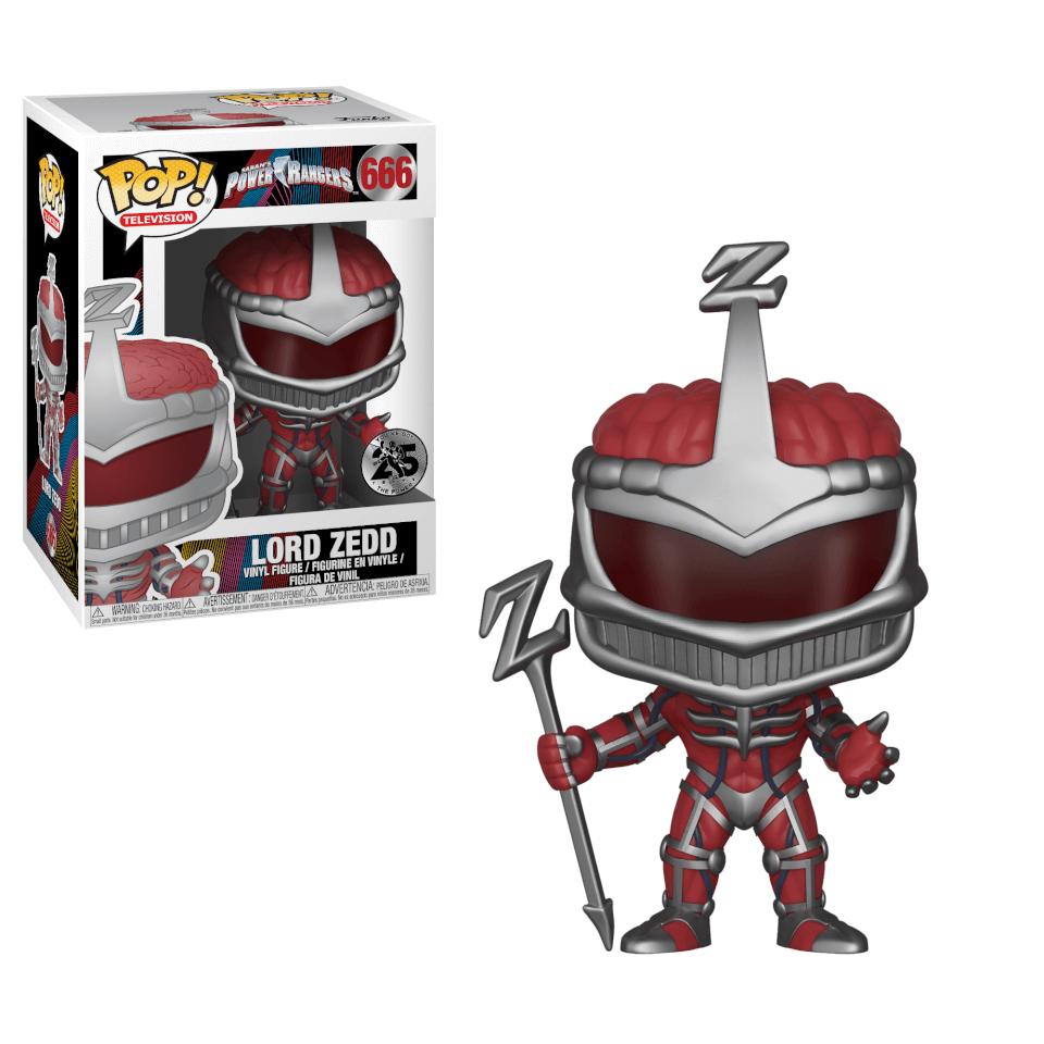 Power Rangers Lord Zedd Pop! Vinyl Figur