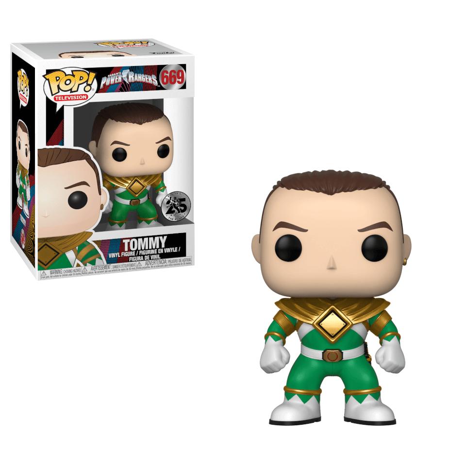Power Rangers Green Ranger Tommy Pop! Vinyl Figur