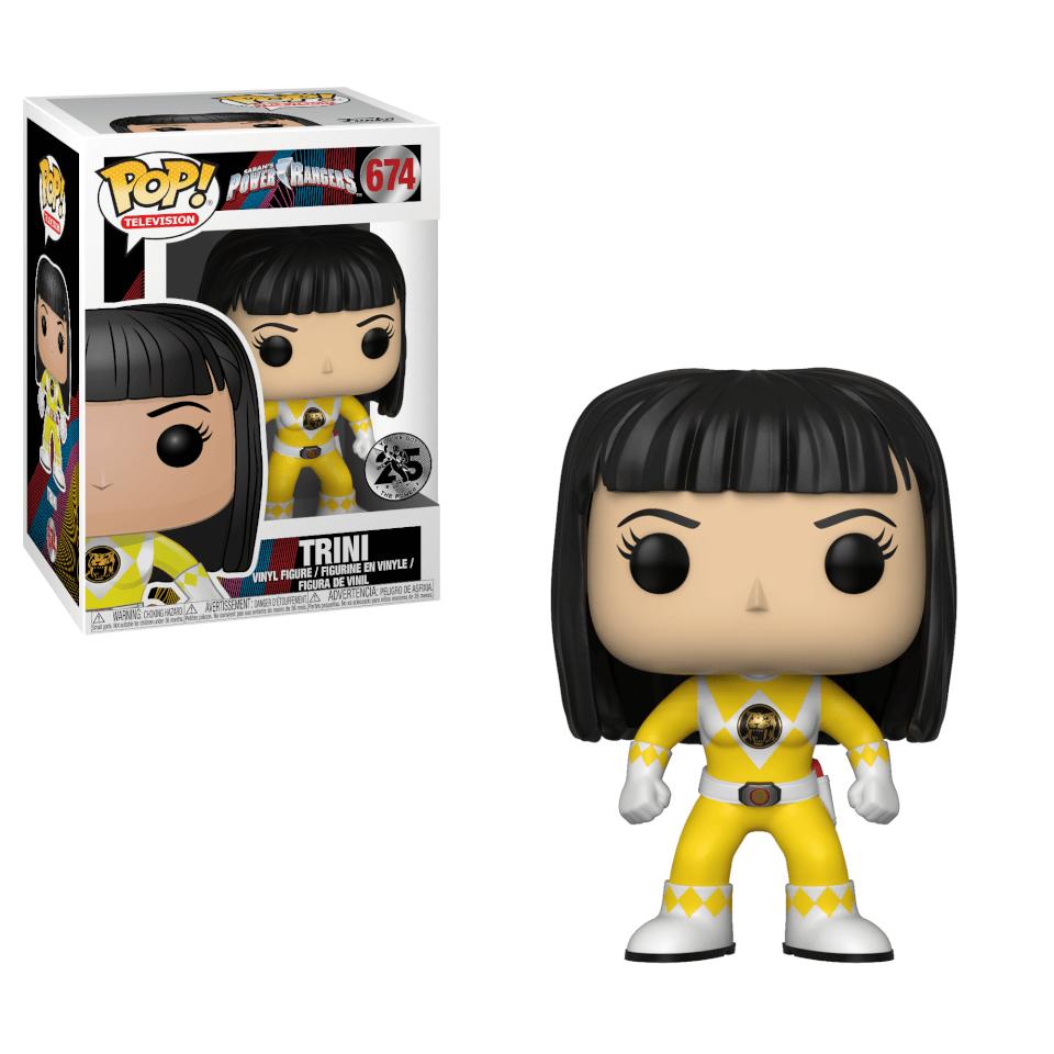 Power Rangers Yellow Ranger Trini Pop! Vinyl Figur