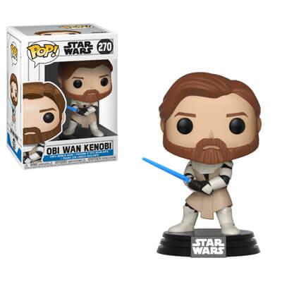 Star Wars Clone Wars Obi Wan Kenobi Pop! Vinyl Figure