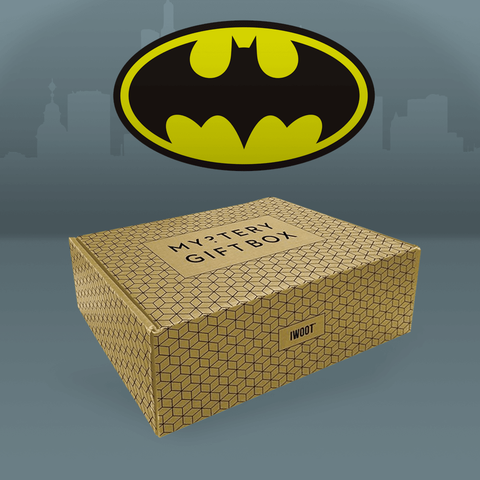 Batman Kids' Mystery Box Includes a Licensed T Shirt 11 12 Years