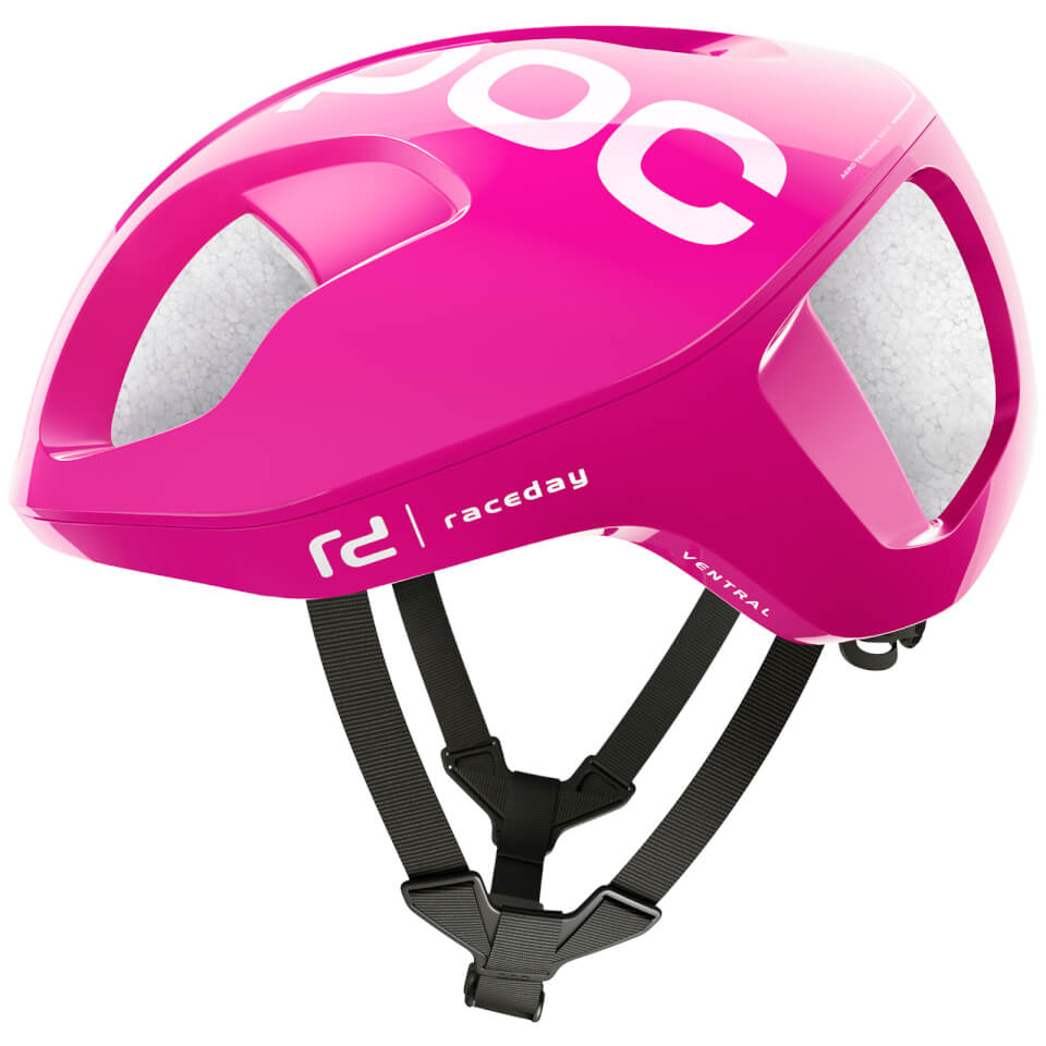 POC Team Education First - Drapac P/B Cannondale Ventral SPIN Helmet - Fluorescent Pink - S/50-56cm