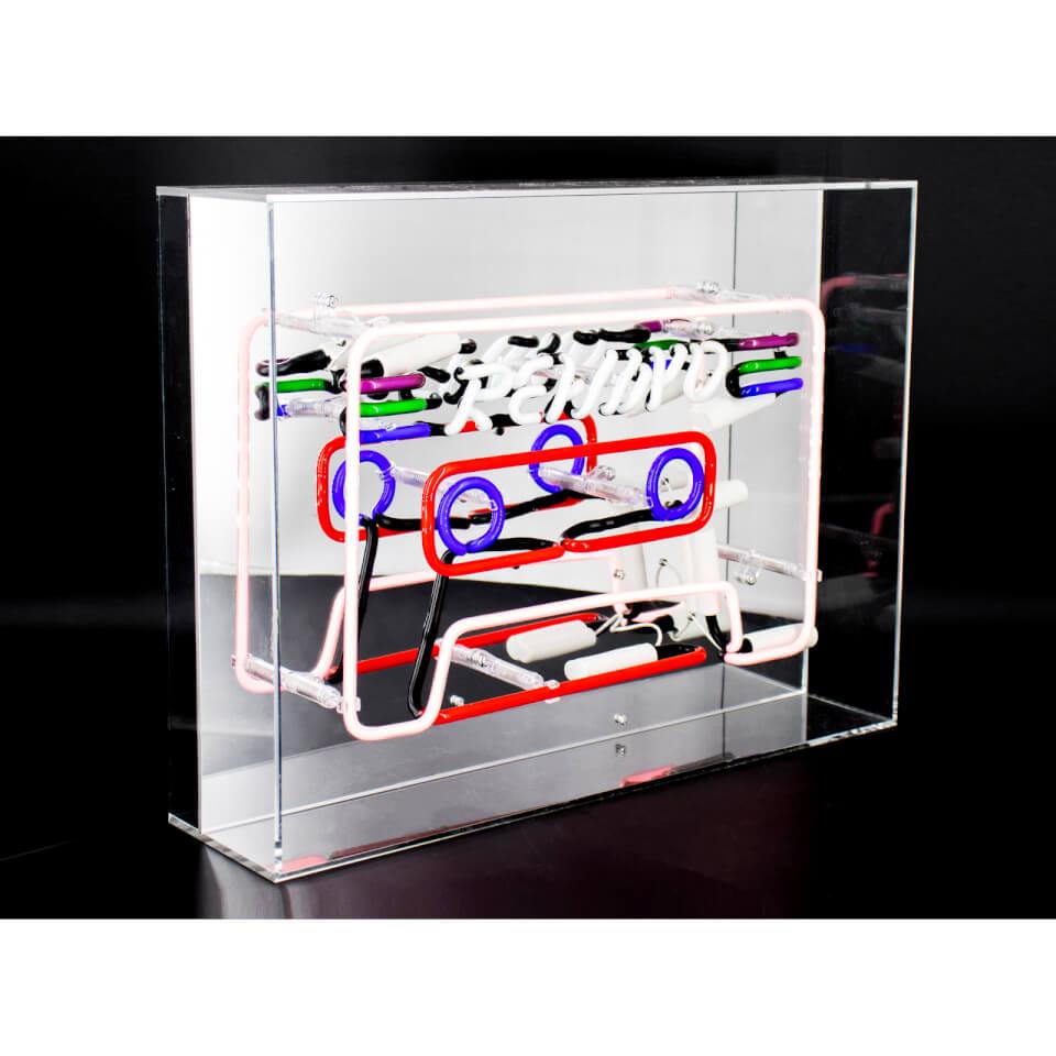 Acrylic Neon Cassette