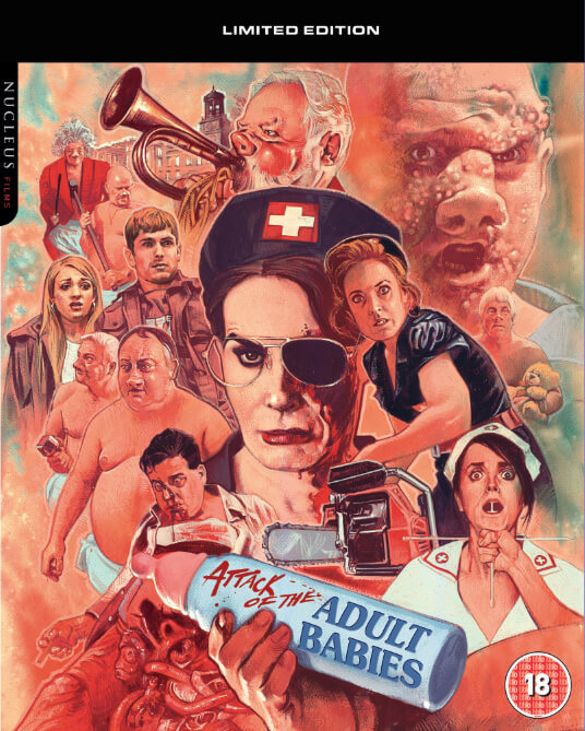 Attack Of The Adult Babies Limited Edition Blu Ray Zavvi