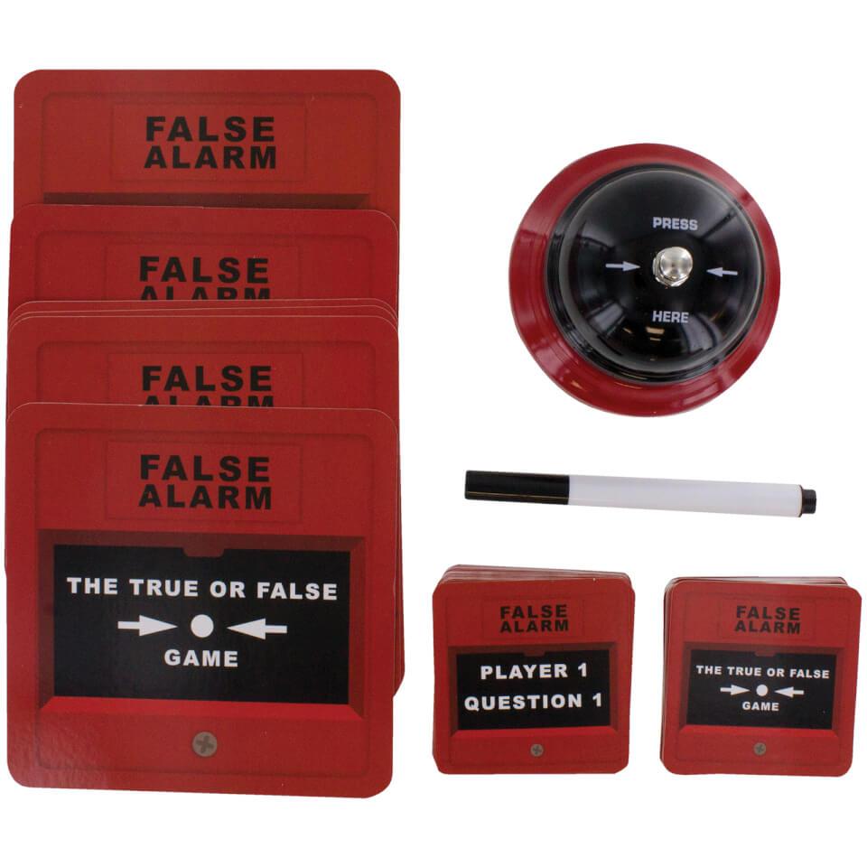 False Alarm Game