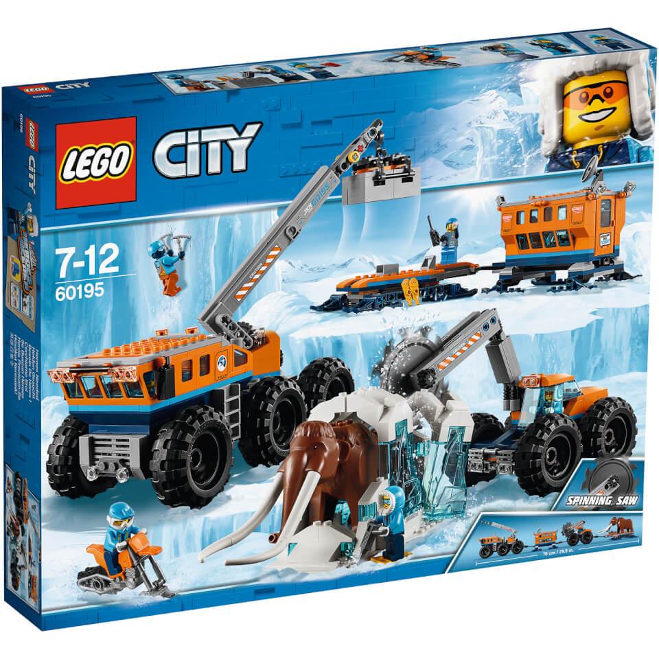City 60195 Ártico: Base Móvil de Exploración, Juegos de construcción