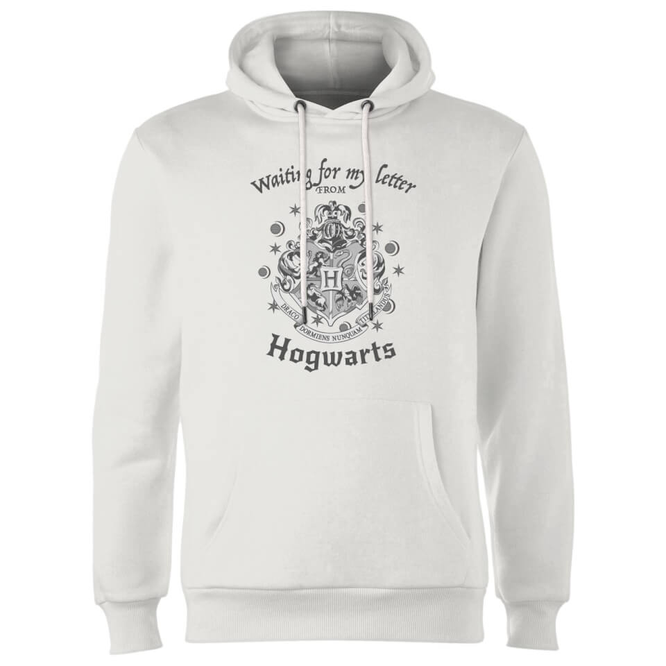 Harry Potter Waiting For My Letter From Hogwarts Hoodie White XXL Weiß
