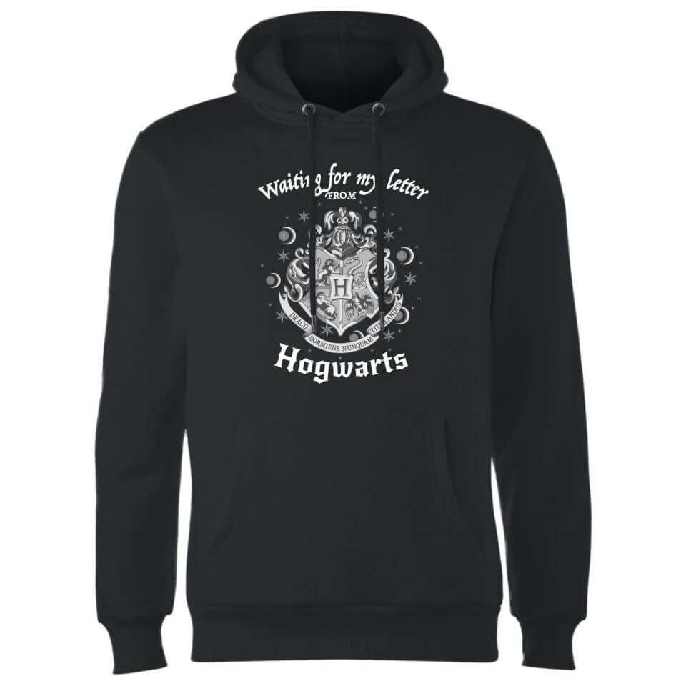 Harry Potter Waiting For My Letter From Hogwarts Hoodie Black XXL Schwarz