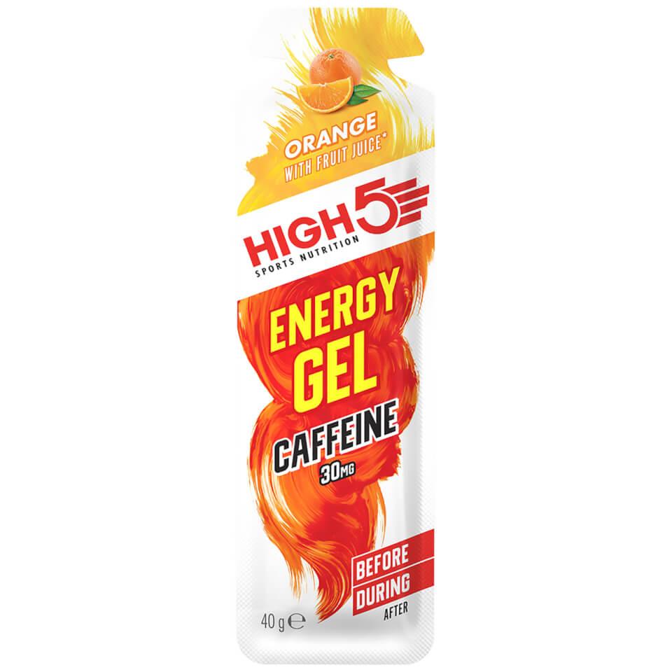 High5 Energy Gel Caffeine - Box of 20 | Energy gels