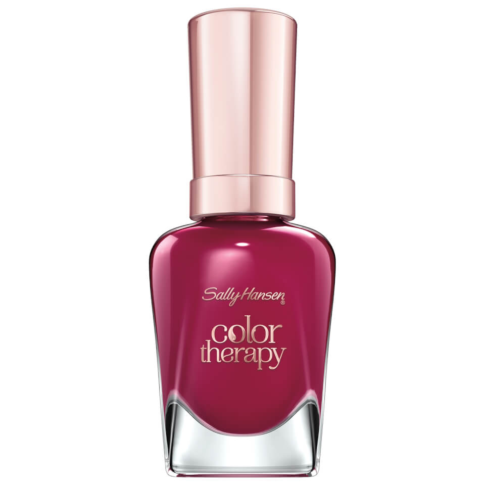 Sally Hansen 380 Ohm My Magenta Color Therapy Nagellak 14.7 ml