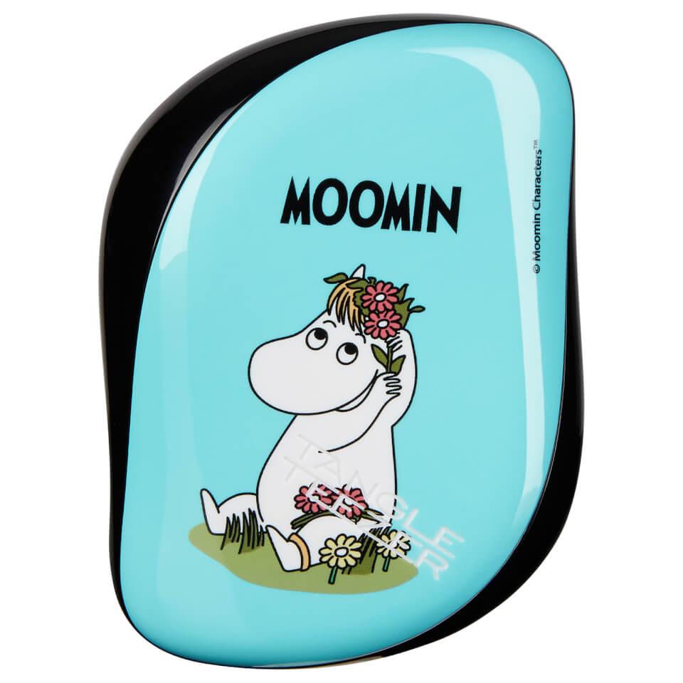 Tangle Teezer Compact Hair Styler Moomin Blue