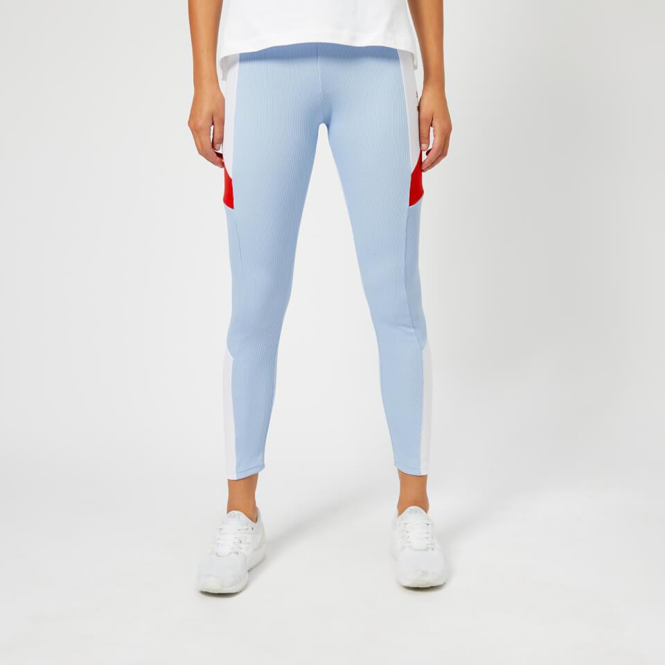 Puma Women's Retro Rib Leggings Cerulean Damenbekleidung