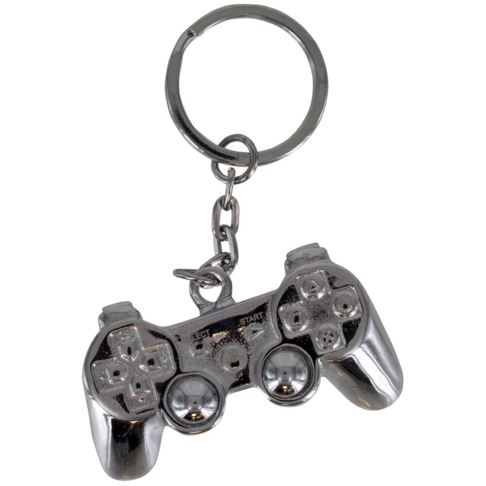 PlayStation 3D Metal Keyring