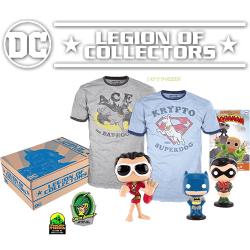 Caja Funko DC Comics Legion of Collectors - Legado - L